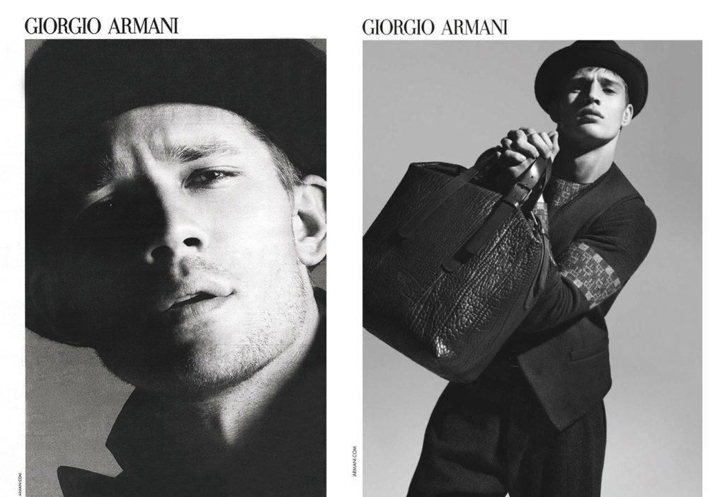 DA MAN Style FW 16's 15 Best FallWinter 2016 Men's Campaigns - Giorgio Armani