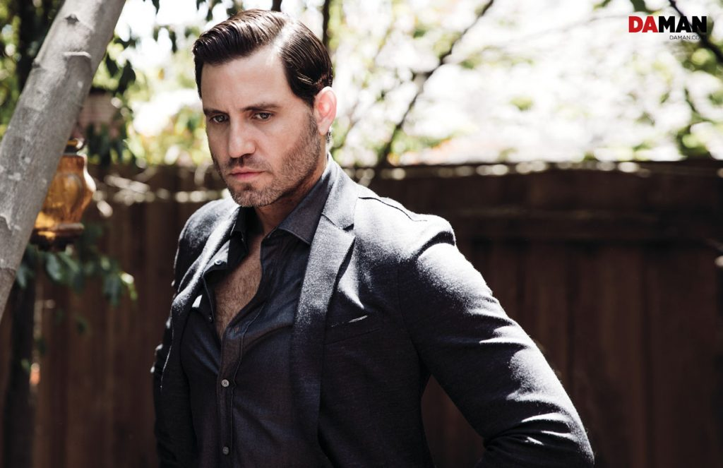 Edgar Ramirez The girl in the Train, Hands of Gold, Gold in Outfit by Boss by Hugo Boss