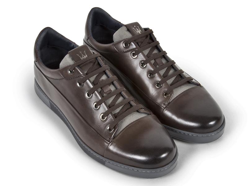 Ermenegildo Zegna x Maserati - Leather Sneakers