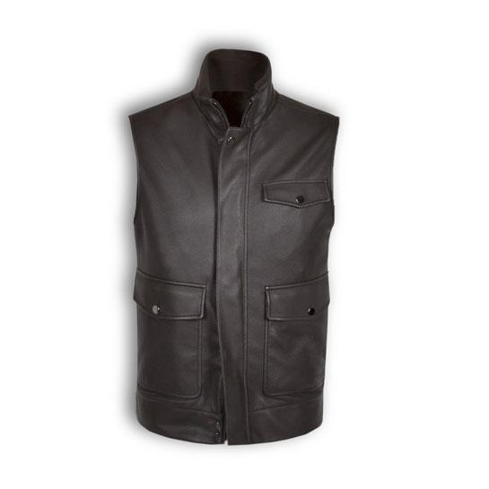 Ermenegildo Zegna x Maserati - Leather Vest