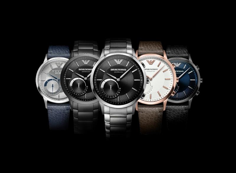 Emporio Armani Debuts Smartwatch Collection   DA MAN Magazine dfcd816961