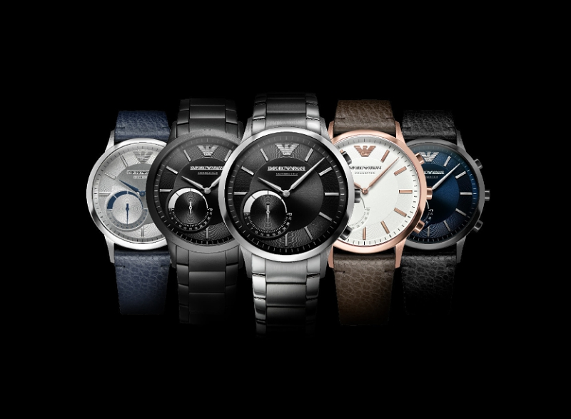 Emporio Armani Connected Hybrid Smartwatch Collection