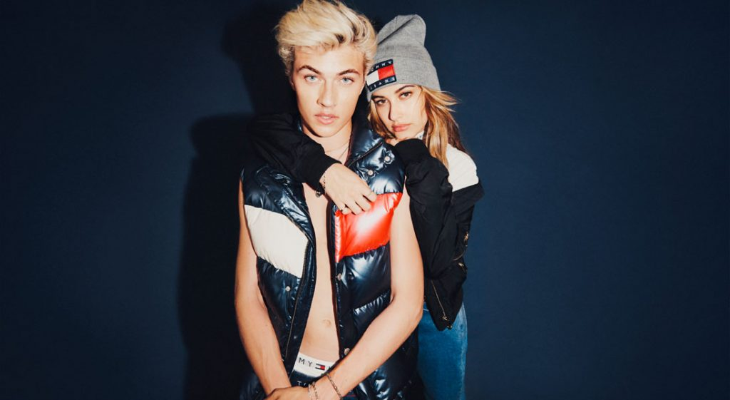 lucky blue smith and hailey baldwin for tommy hilfiger denim fall 2016-2-72