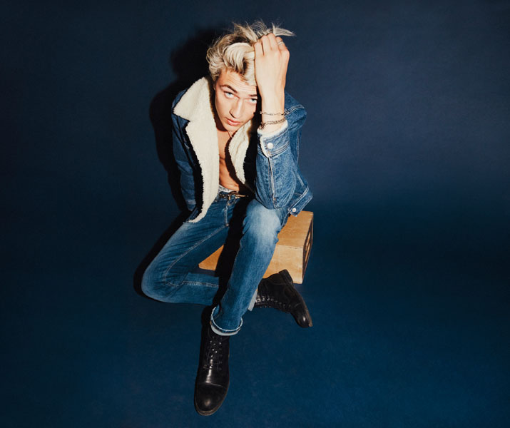 lucky blue smith for tommy hilfiger denim fall 2016-72