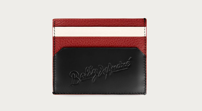 Bally x Andre Saraiva card case