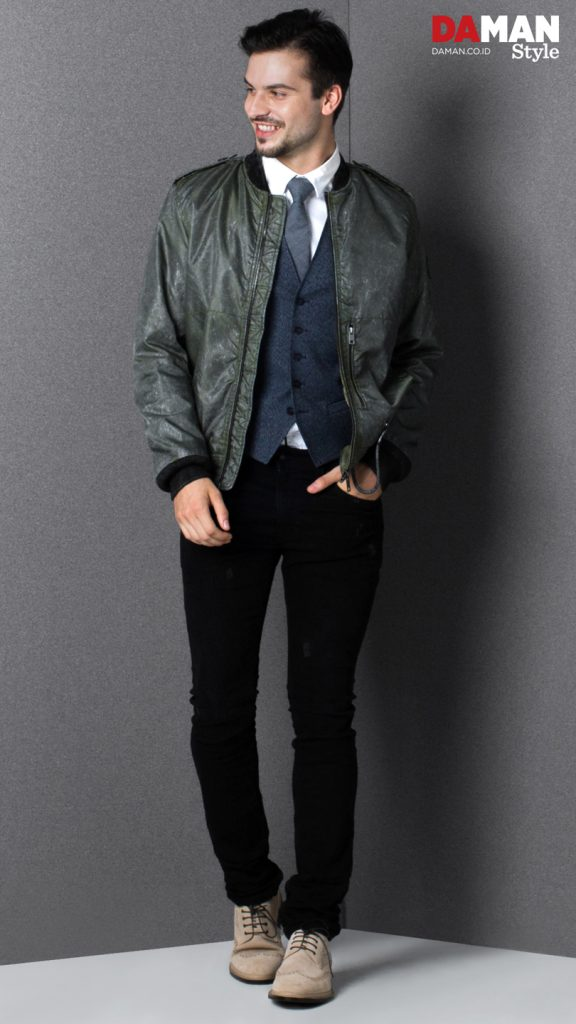 DA MAN STYLE FALL WINTER 2016_KNOW-HOW_BOMBER JACKET_2
