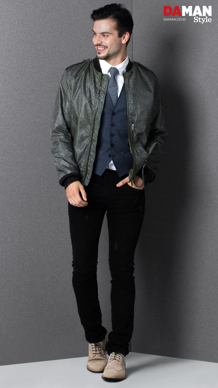3 Ways to Wear Bomber Jacket | DA MAN Magazine