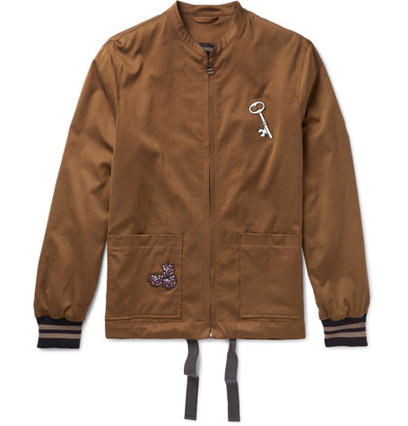 Lanvin x Mr Porter - Bomber Jacket