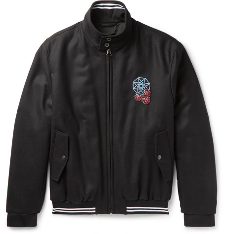 Lanvin x Mr Porter - Bomber Jacket2