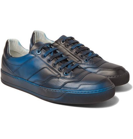 Lanvin x Mr Porter - Leather Sneakers