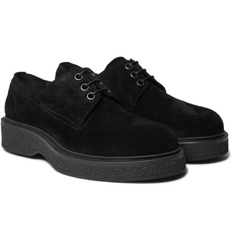 Lanvin x Mr Porter - Suede Derby Shoes