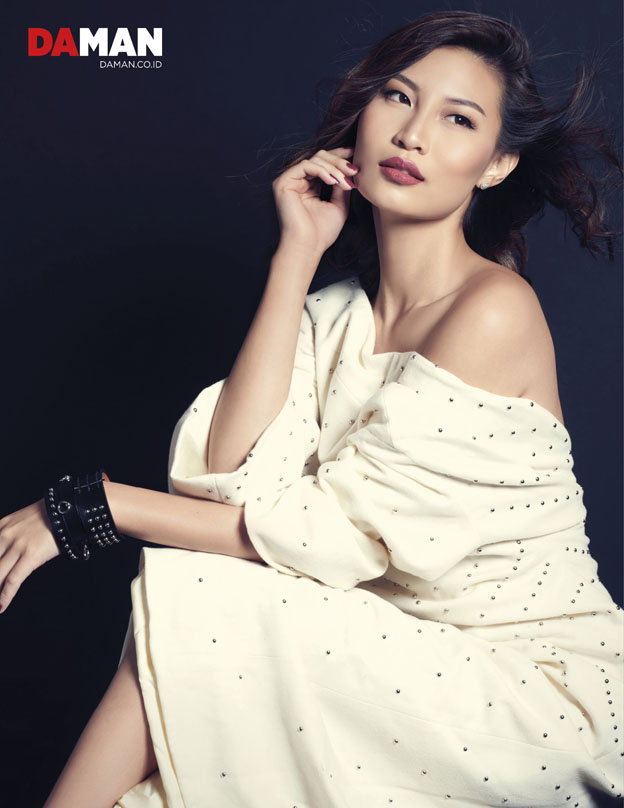 Patricia Gouw of ASNTM in Dress and bracelet by Hermes