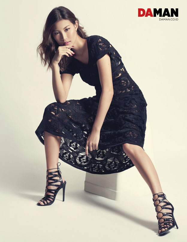 Patricia Gouw of ASNTM in Dress by Chanel