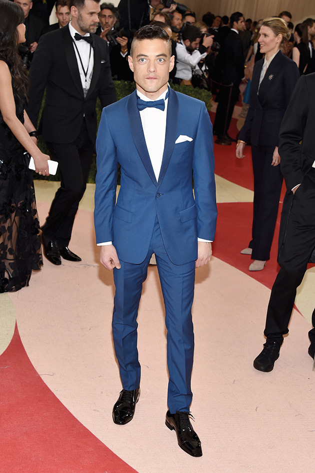 Rami Malek in Dior Homme at the Met Gala 2016