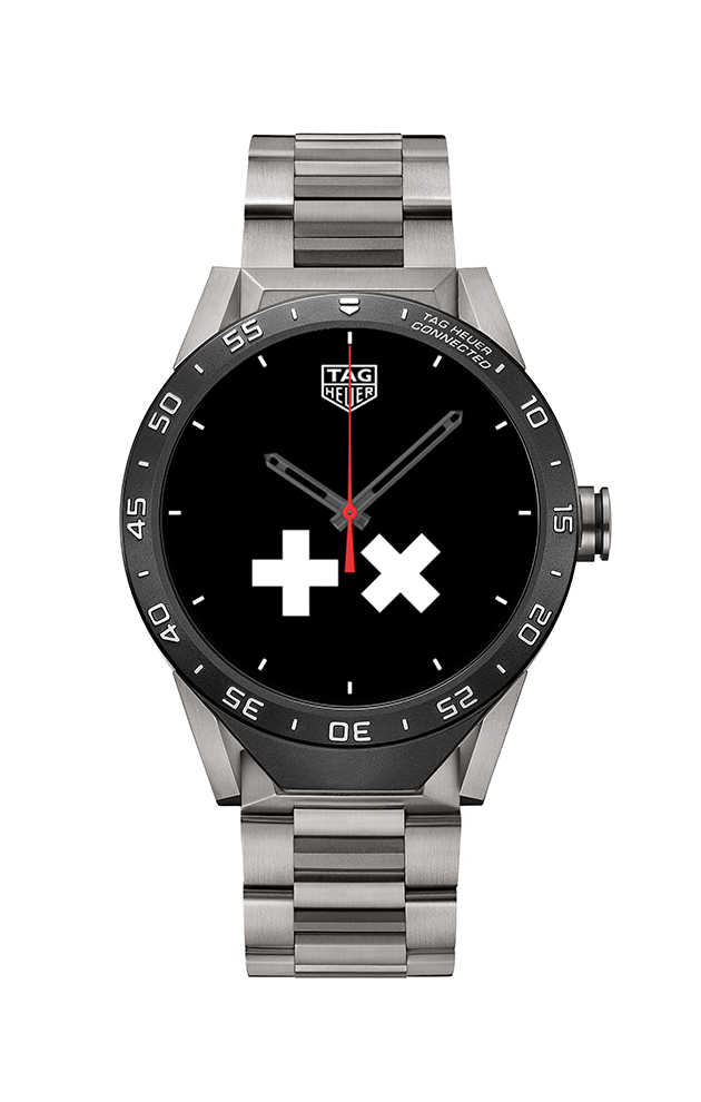 The Martin Garrix dial on the TAG Heuer Connected watch