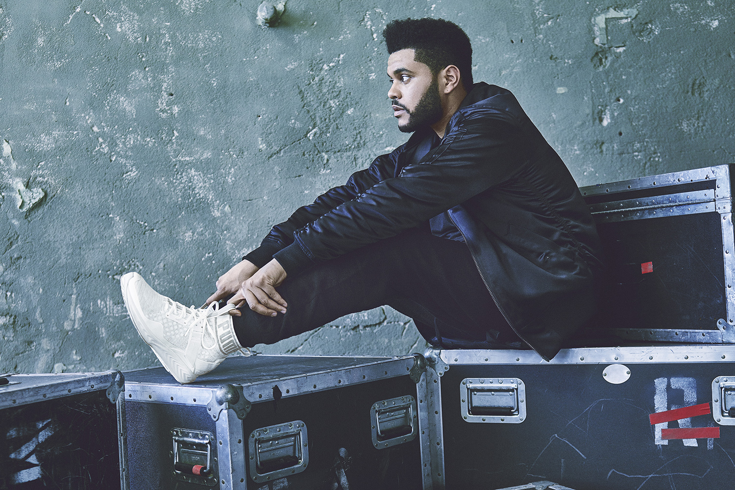 The Weeknd 39 S Puma Ad Campaign Is Here Da Man Magazine