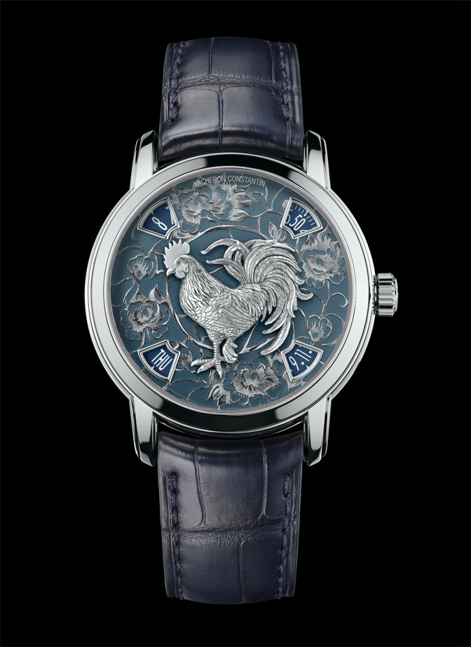 Vacheron Constantin Métiers d'Art The legend of the Chinese zodiac Year of the Rooster Platinum