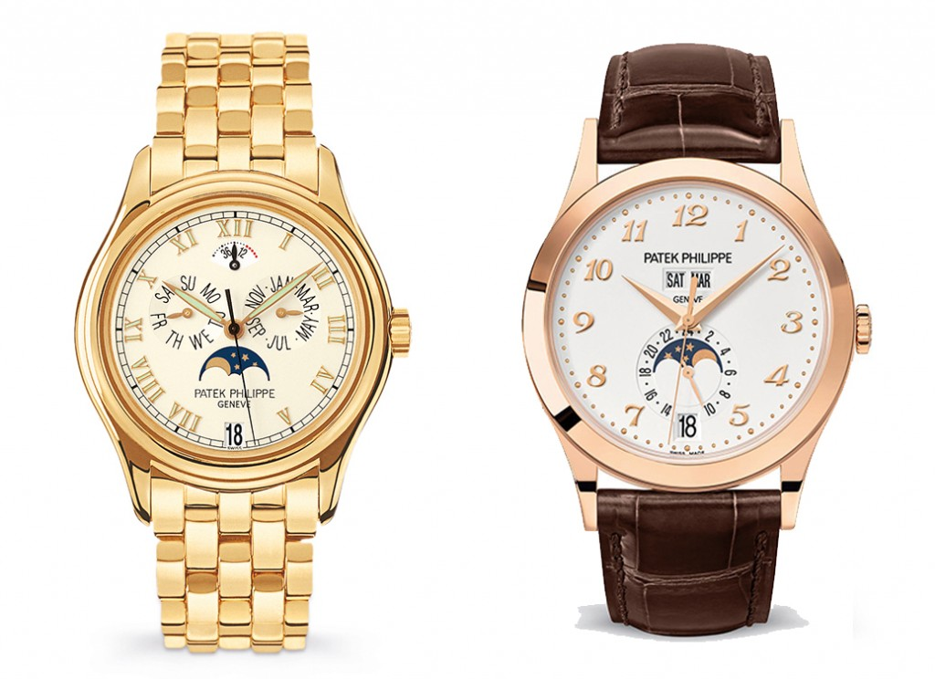 comparing the ref. 5035 with the new ref. 5396r watch