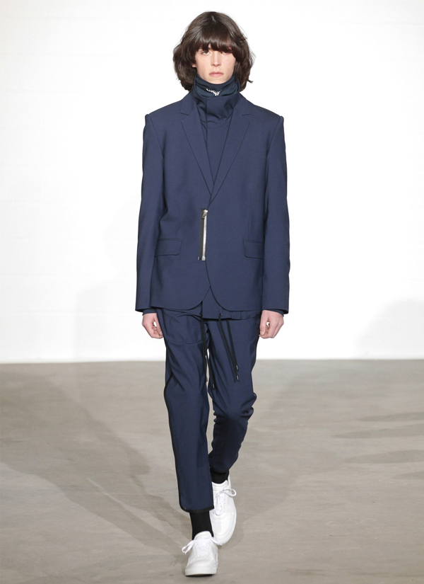 quirky suit detailing from Public school