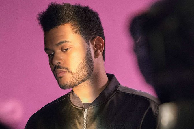 the weeknd for h&m