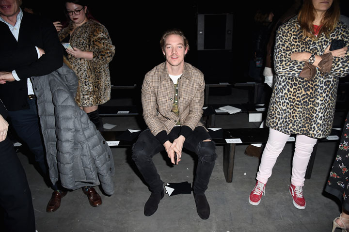 Coach 75th Anniversary: Women's Pre-Fall and Men's Fall Show - Front Row