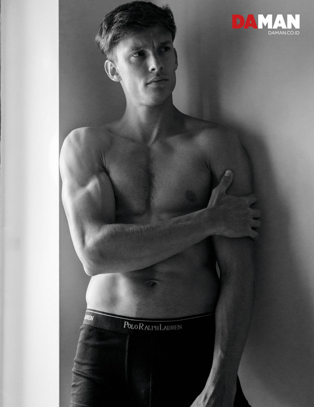 Model Chris Doe in Briefs by Polo Ralph Lauren