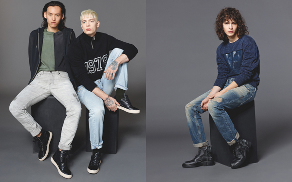 The variety of denim styles and washes for the season