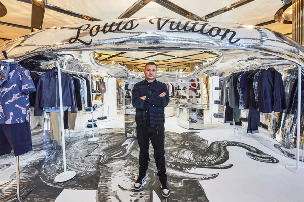 kim jones talks africa punk see now buy now at louis vuitton 39 s spring summer 2017 pop up in. Black Bedroom Furniture Sets. Home Design Ideas