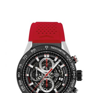 CAR2A1Z.FT6050 RED RUBBER STRAP