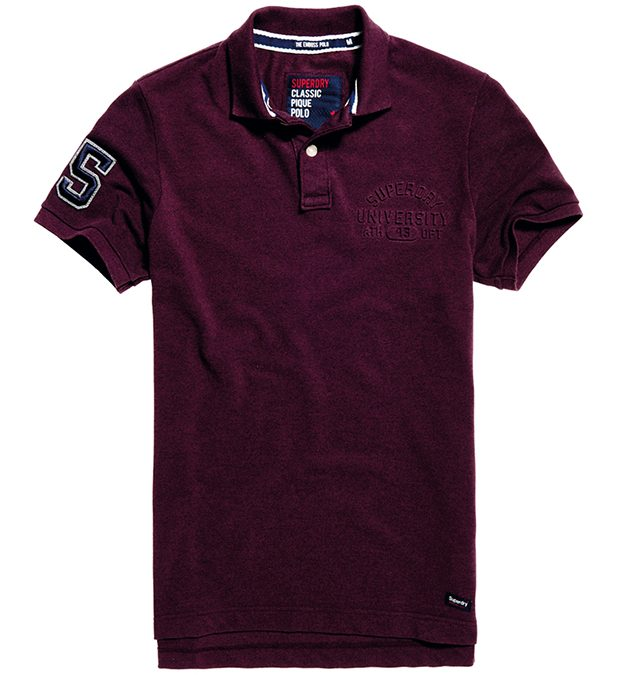 Polo shirt by Superdry