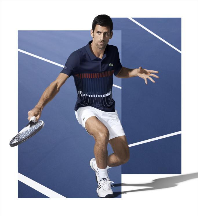 Novack Djokovic Signs Up With Lacoste Da Man Magazine
