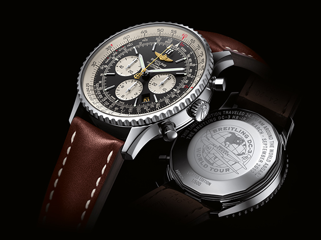 The limited edition Navitimer Breitling DC-3