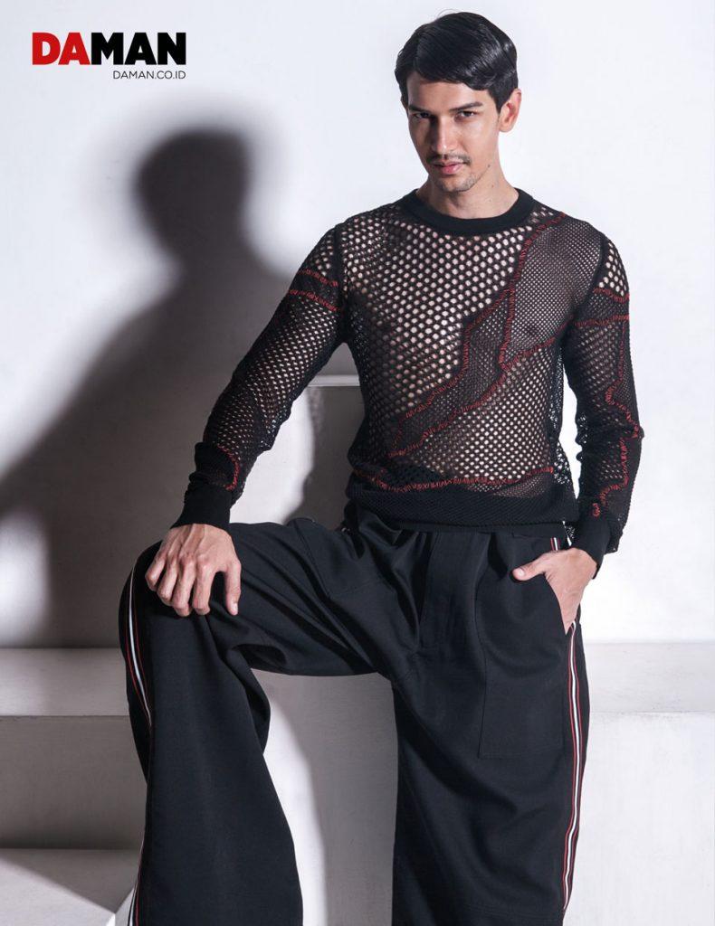 Dimas Beck in Dior Homme's Edgy Seasonal Style | DA MAN