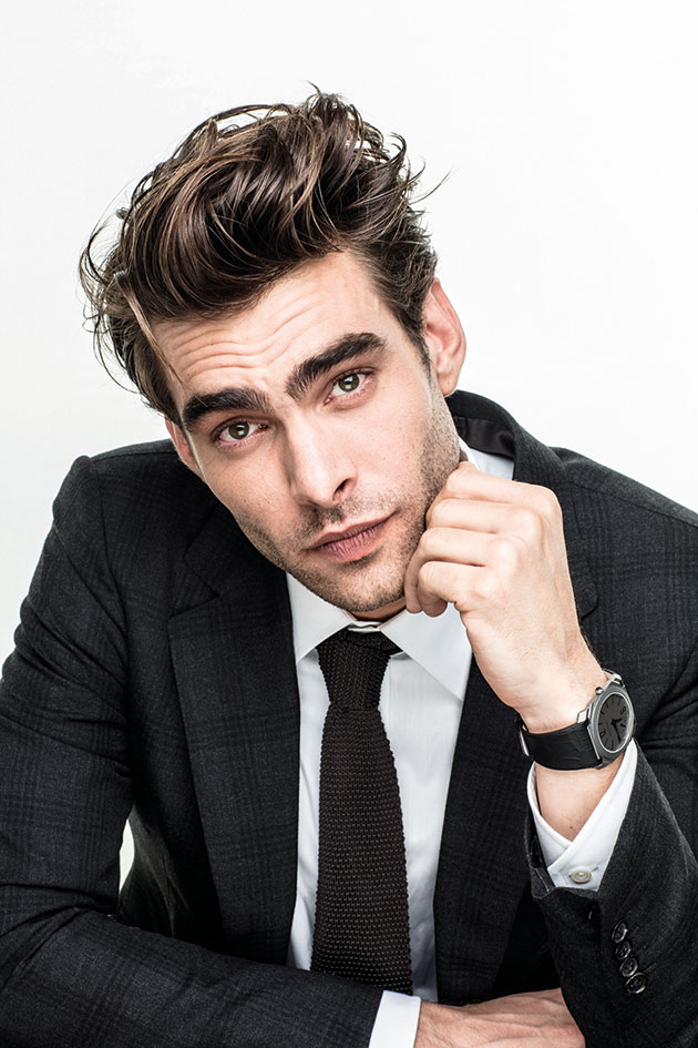Jon Kortajarena sporting the record-breaking watch