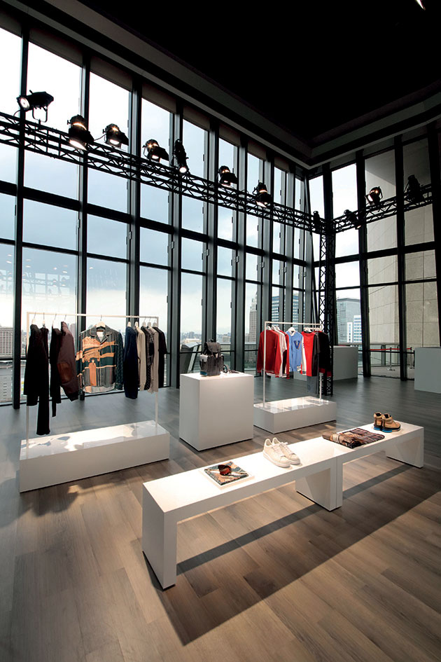 The fall/winter 2017 collection on display