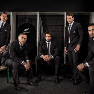 Members of the All Blacks