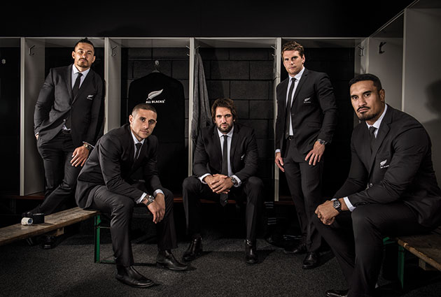 Members of the All Blacks