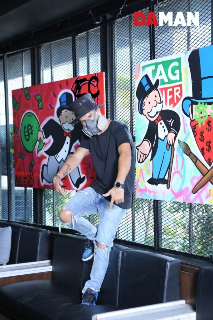 8d932b2c91c4 DA  And no w you re collaborating with TAG Heuer. How did that come about  Alec  Monopoly  It star ted kind of organic ally with Jean-Claude Biver.