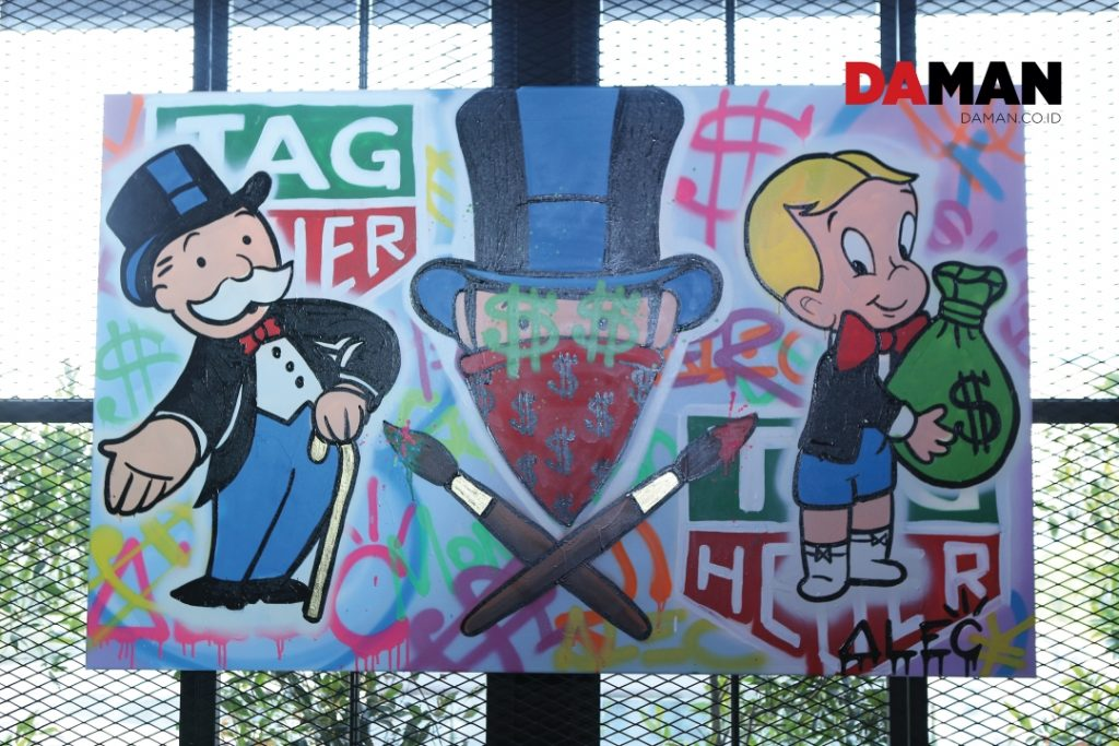 f4f3f2bebe94 DAMAN  Tell us about y our first encounter with ar t… Alec Monopoly  It  s  hard for me to remember