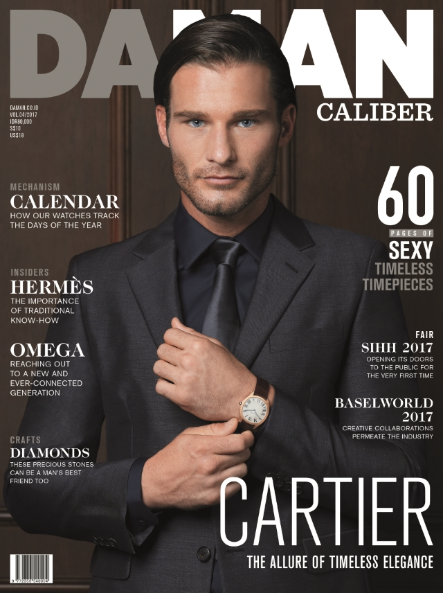 DA MAN Caliber Cover Ronald Liem