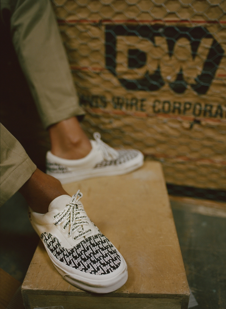 bbe1d8e7ad There are three footwear models in the latest Vans X F.O.G. – Fear of God  collection
