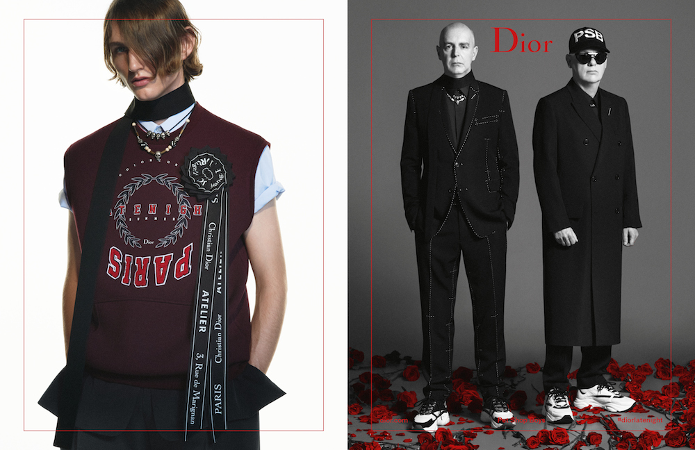 ef4495211cd7 To welcome in its new Spring-Summer 2018 collection, Dior Homme s latest  campaign not only features the music of Petshop Boys, but also features the  ...