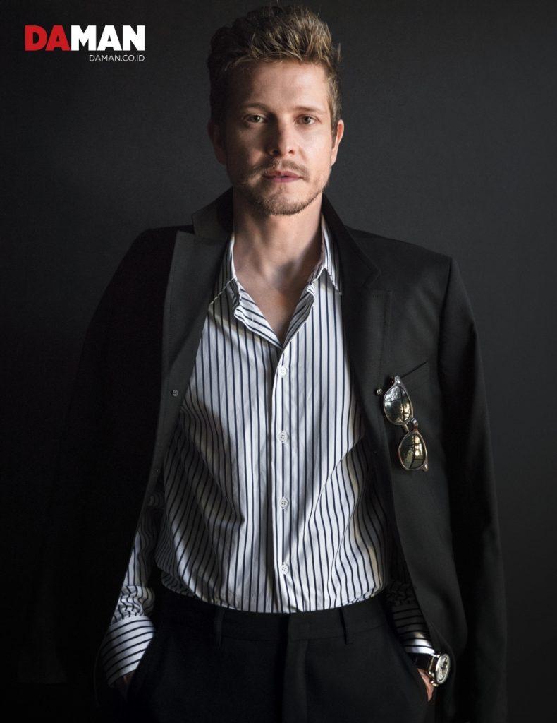Matt Czuchry-Print-DA MAN magazine - Mitchell Mccormack