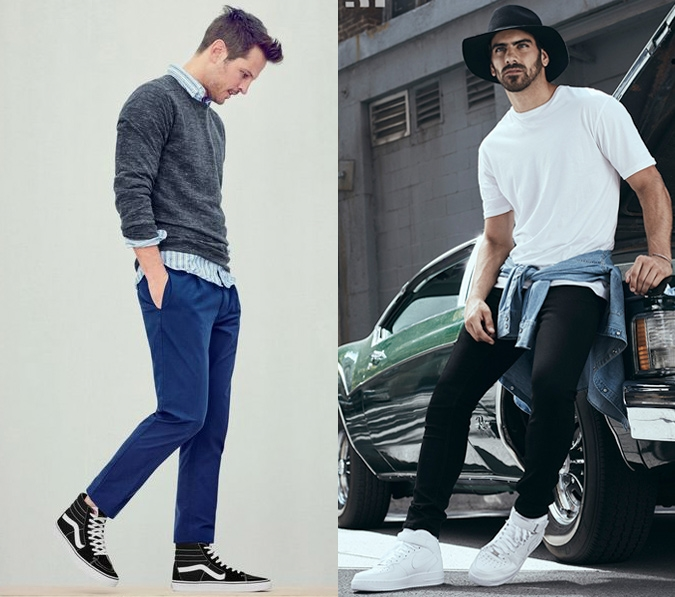The Rules To Pairing Sneakers To Your Outfit Da Man Magazine