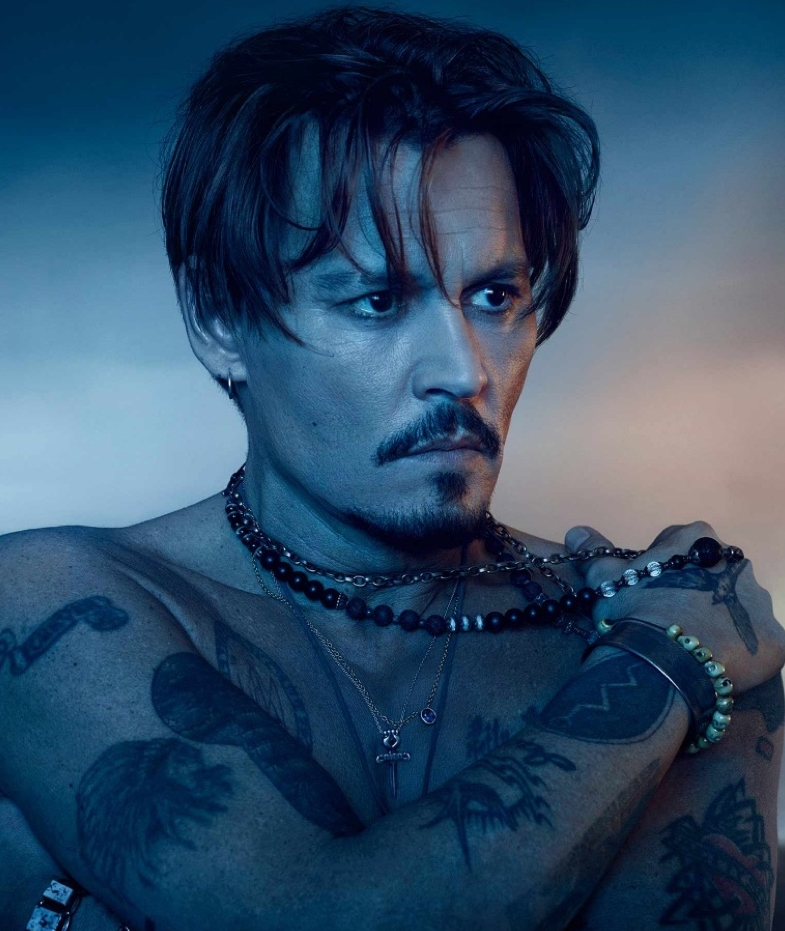 Johnny Depp Returns as the Face of Dior Sauvage Fragrance ... - photo#40