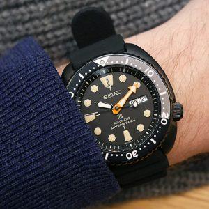 Seiko-Prospex-Black-Series-Wrist - DA MAN magazine 360 watches