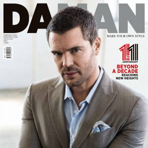 Celebrating our 11th Anniversary Issue with Charlie Weber