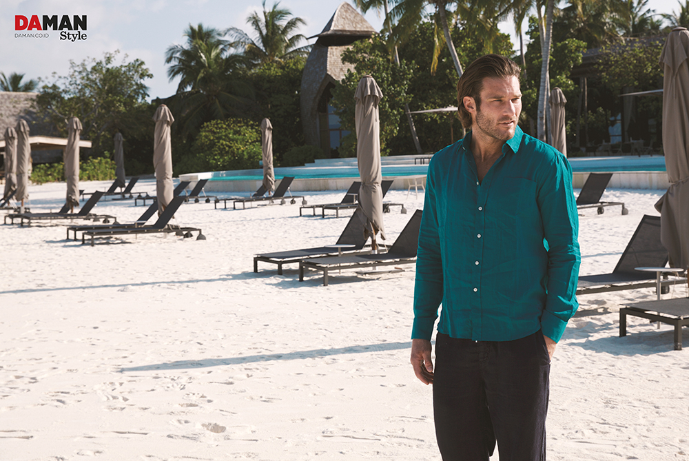 Biasa, John Varvatos, Nic Thompson, Regis, Ronald Liem, ST. REGIS, St. Regis Maldives Vommuli Resort, Teamm8, Theory, Vilebrequin