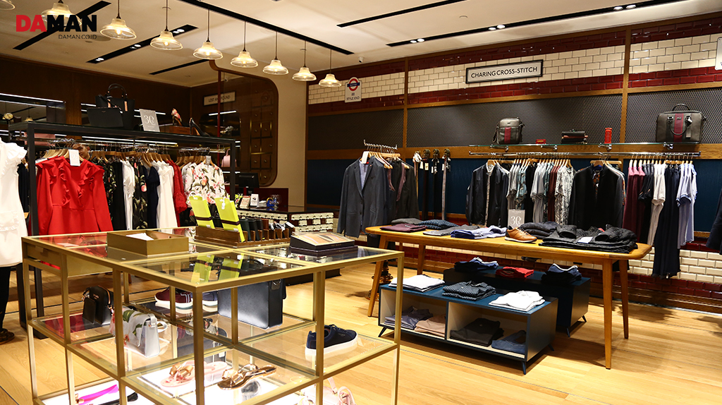 b71a0a29b095 Did you know that no Ted Baker London stores are alike  All the stores  worldwide are interior designed to evoke unique British vibes.