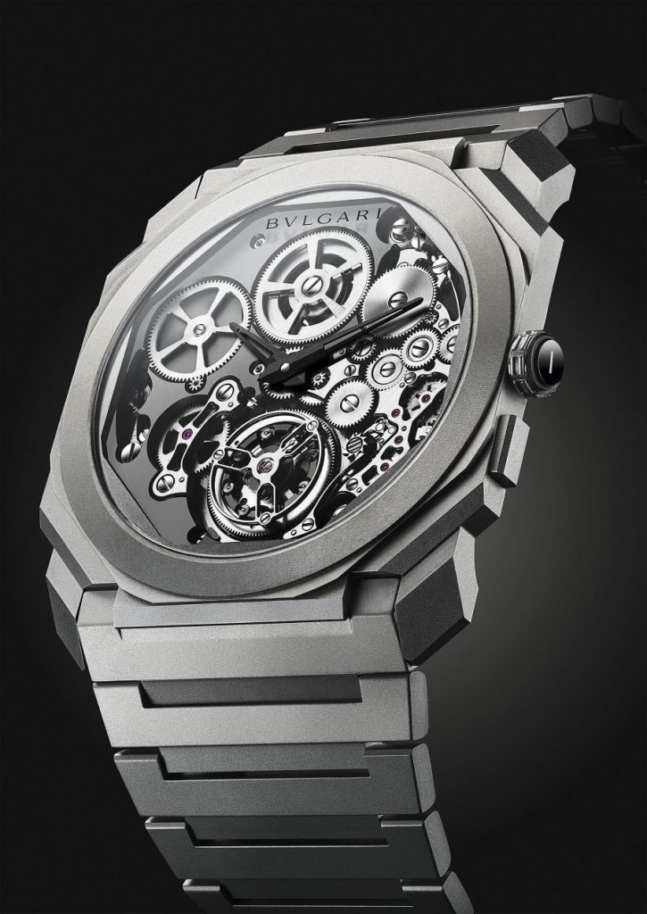 bbb3e69191e17 This new landmark eloquently expresses Bvlgari s mastery of watchmaking and  presents a new breakthrough on the front of extreme slenderness.